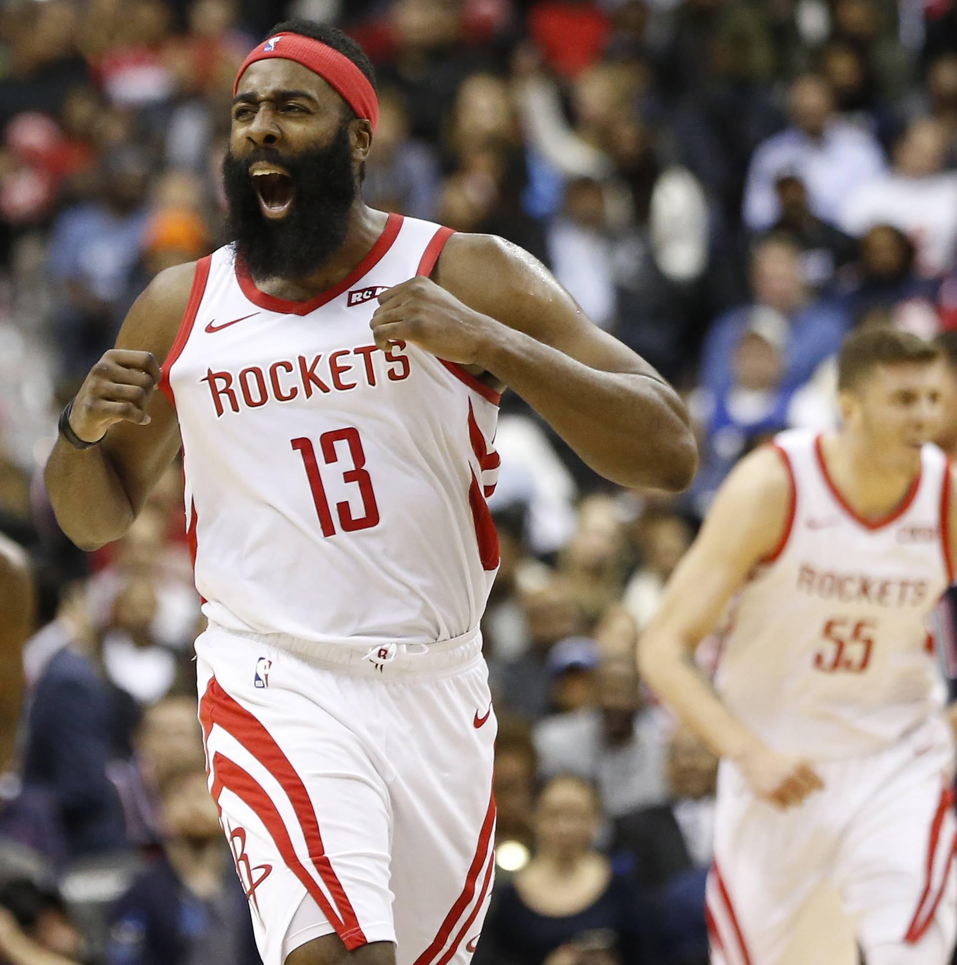NBA: Houston Rockets at Washington Wizards