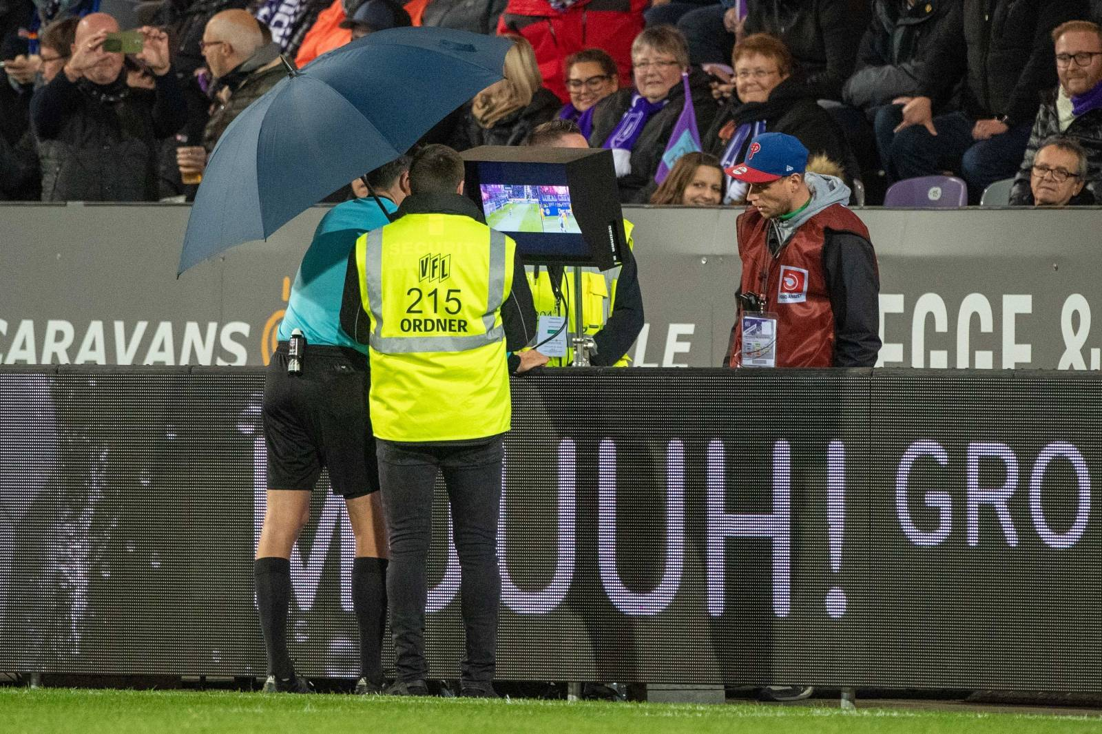Soccer 2. Bundesliga / VfL Osnabrueck - DSC Arminia Bielefeld 0: 1.