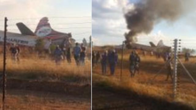 Pao avion u Južnoj Africi: 19 ljudi ozlijeđeno, jedan mrtav