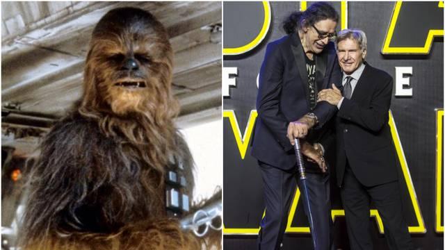 Harrison Ford tuguje: Uložio je dušu u lik Chewbacce, falit će...