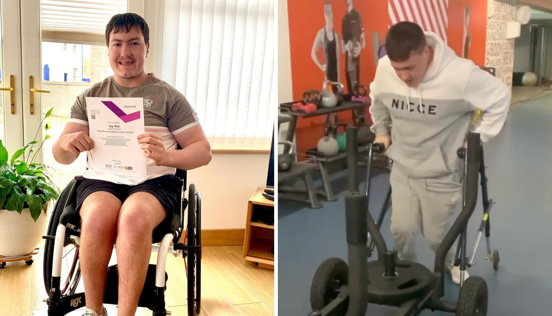 Unatoč cerebralnoj paralizi sada je fitness trener: U teretani sam sretan, kolica me ne sputavaju
