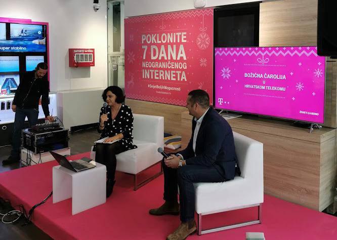 Hrvatski Telekom za blagdane poklanja neograničeno surfanje