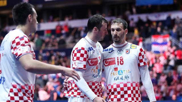 Norveska i Hrvatska u utakmici pulufinala Europskog prvenstva u rukometu