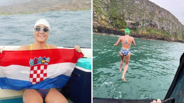 Dina Levačić skočila u more i krenula u preplivavanje kanala: Voda je mizernih 12 stupnjeva
