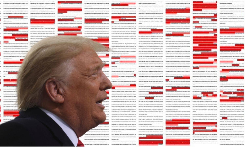 Ovo je Trumpov govor: Crveno su njegove laži i izmišljotine...