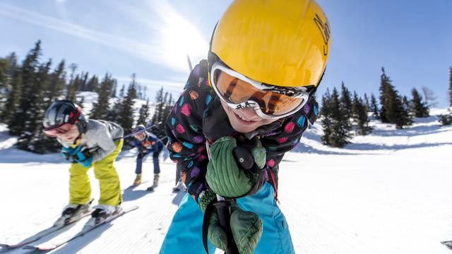 Skifahrer-Nachwuchs auf der Grebenzen (Murtal)