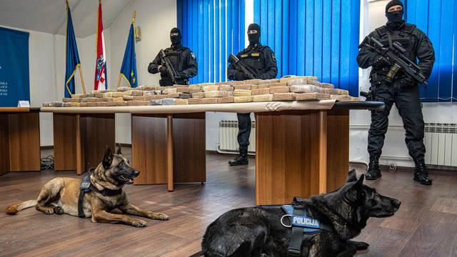 Dubrovnik: Policija održala konferenciju za medije nakon rekordne zapljene droge