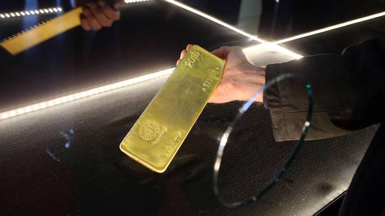 Predstavljena zlatna poluga od 12,44 kg vrijedna 500.000 €