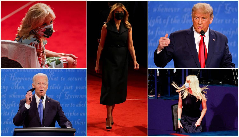 Totalna suprotnost: Melania je oduševila u crnini, a Bidenova supruga došla u cvjetnoj haljini