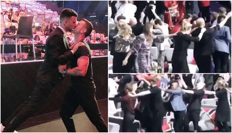 Voditelji su se ljubili, a ostali plesali u 'vlakiću' kao na svadbi