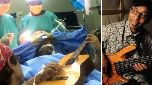 Jazz muzičar svirao gitaru dok su mu operirali tumor mozga