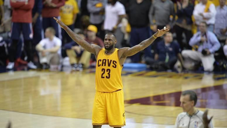 LeBron James se pobrinuo da i finale Istoka bude ''dosadno''