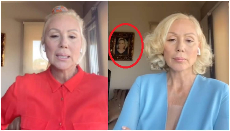 Brena u svojoj vili ima vlastiti portret: 'Zaslužuješ puno veći'