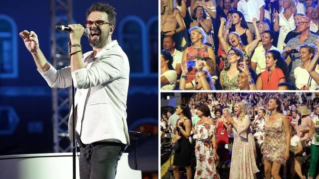 Grašo rasplesao obožavateljice: Pjevale u glas s njim sve hitove