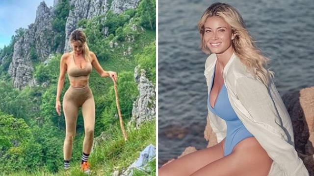 Obožava i more i gore - Diletta uživa u divotama rodne Sicilije