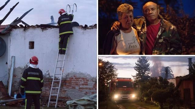 Ostali su bez doma: 'Sve što smo imali, izgorjelo je u tren'