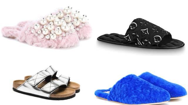 Skupocjene papuče za ljubitelje luksuza u izolacijskim danima
