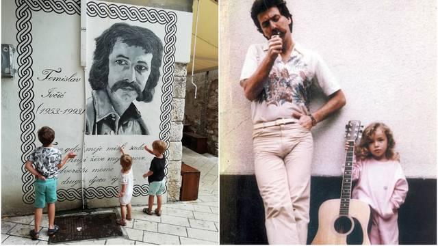 Kći Tomislava Ivčića sjetila se tate: 'Srcu mome tiha patnja...'