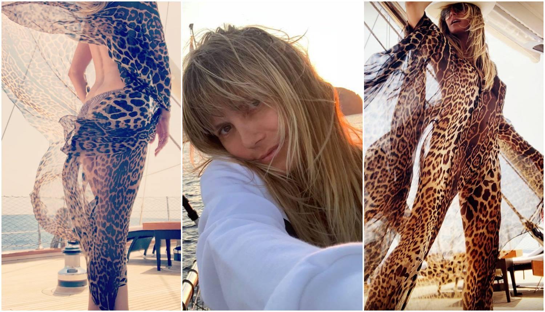 Heidi podijelila 'divlje' fotke s jahte: 'Tako si predivna žena...'