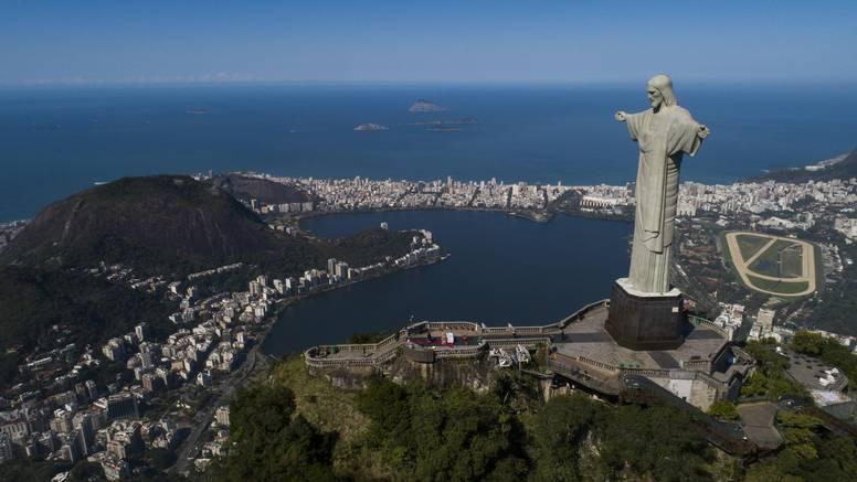 Kip Krista Iskupitelja u Rio de Janeiro-u slavi 90. obljetnicu