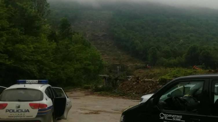 Siječemo šumu na Plješevici, a BiH se buni: 'To je naš teritorij'