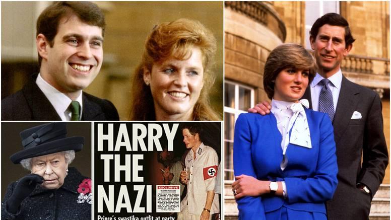 Fergie je savjetnik lizao noge, a Harry se odijevao kao nacist...