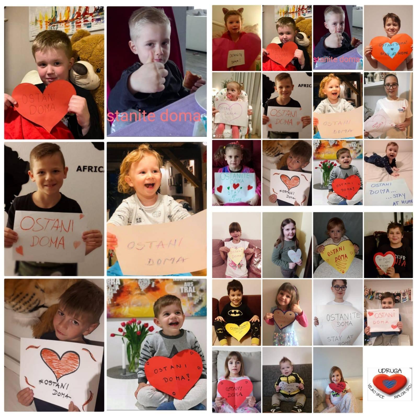 Djeca vas mole: Ostanite doma, zbog vas naša srca mogu stati!