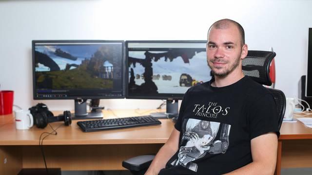 Josip dizajnira videoigre: 'Moj glavni lik boluje od Alzheimera'