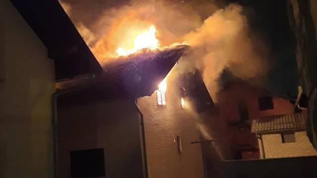 VIDEO Dva požara u pola sata! Spasili su ženu u Susedgradu, u Dubravi vatra progutala kuću