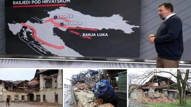 Ovo su ključni rasjedi: Zagreb bi mogao imati udar od 6 Richtera, ali za to je mala vjerojatnost