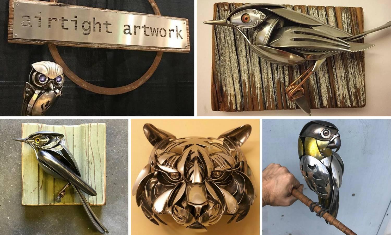Predivni svijet mašte: Od žlica i vilica stvara malene skulpture