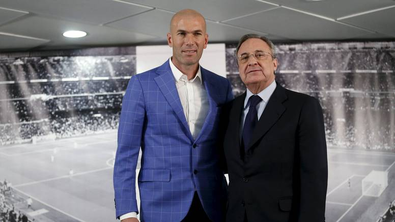 Potjerali Beniteza: Zidane, ti si naš novi trener, ti možeš  sve...