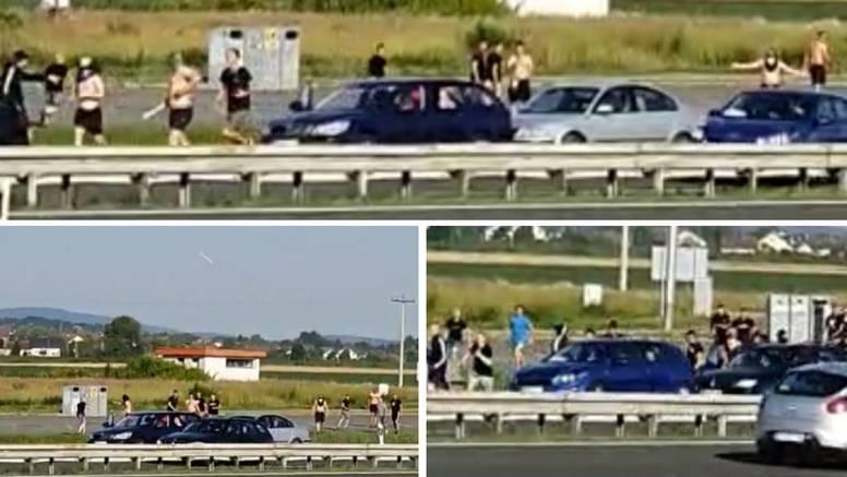 BBB-ovci i Kohorta gađali se letvama i bocama na autocesti