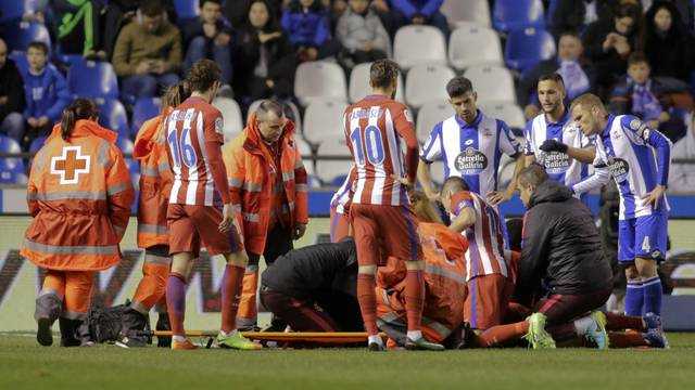 Football Soccer - Deportivo Coruna v Atletico Madrid - Spanish La Liga Santander