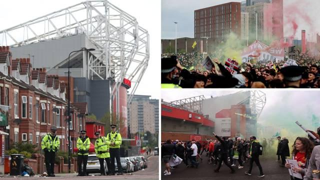Policajca isjekli bocom, završio na hitnoj: Osoblje Uniteda se moralo zaključati na stadionu