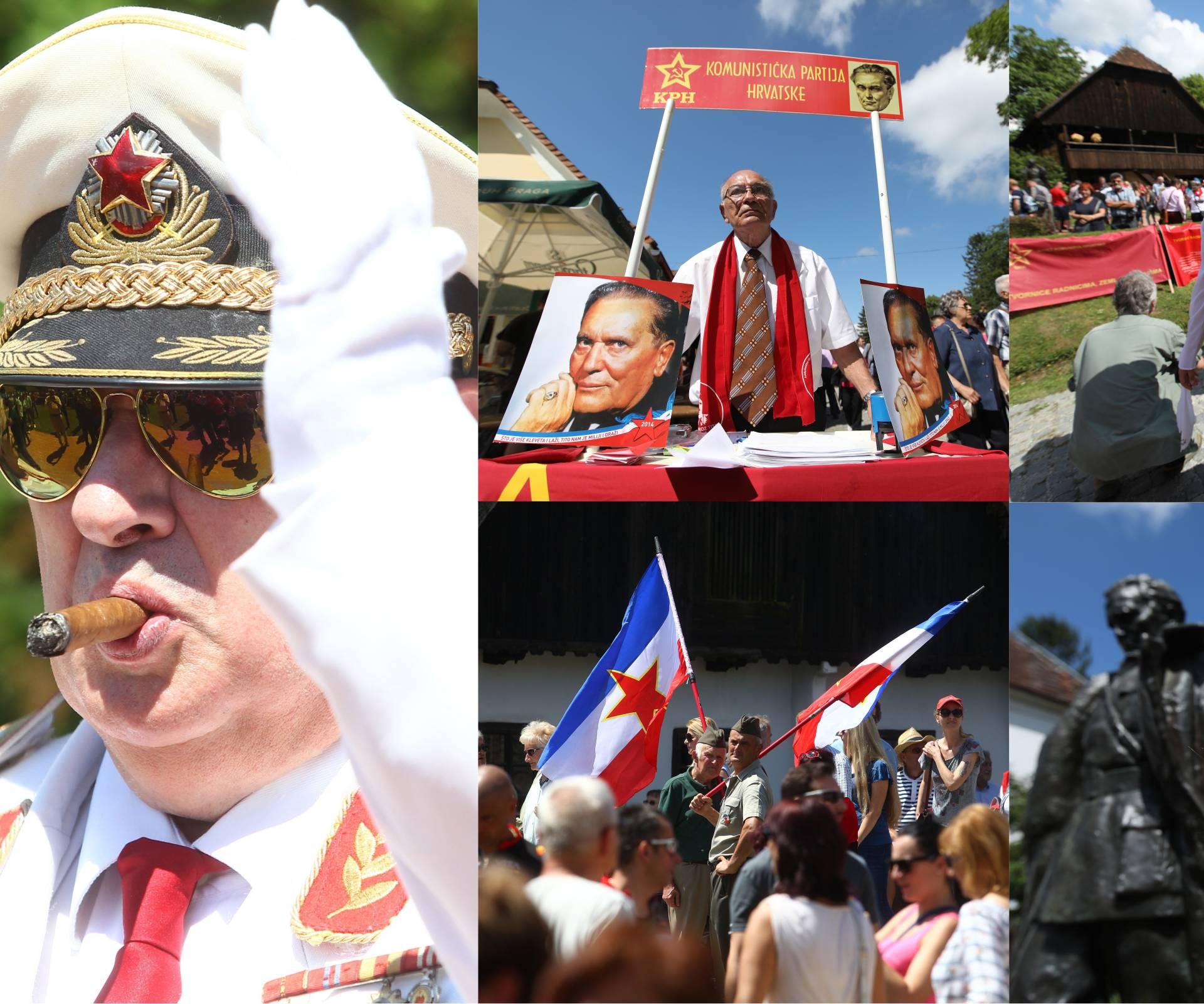 Tito se 'ukazao' u Kumrovcu: 'Svrstavaju nas sa zločincima'