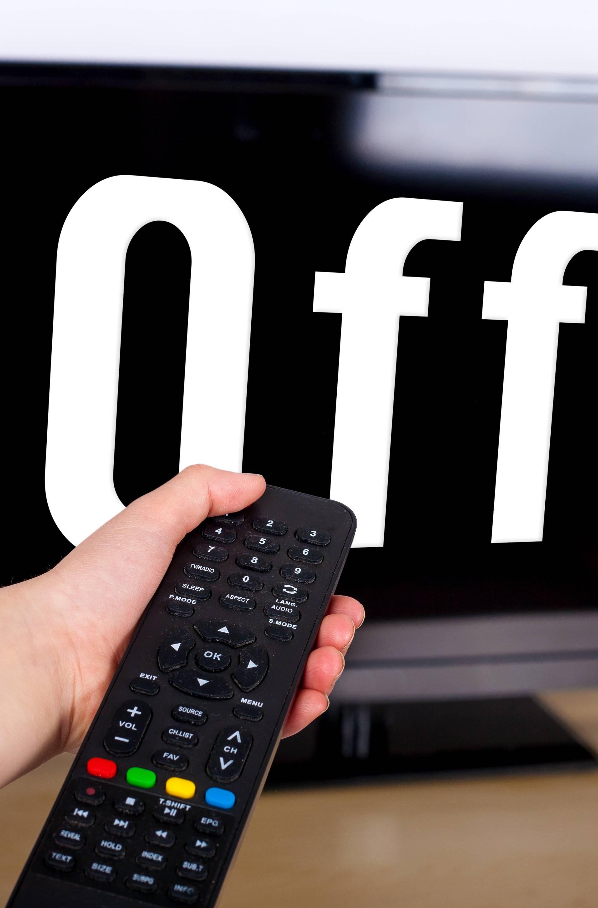 'Gledajte TV manje od dva sata na dan i bit ćete puno zdraviji'