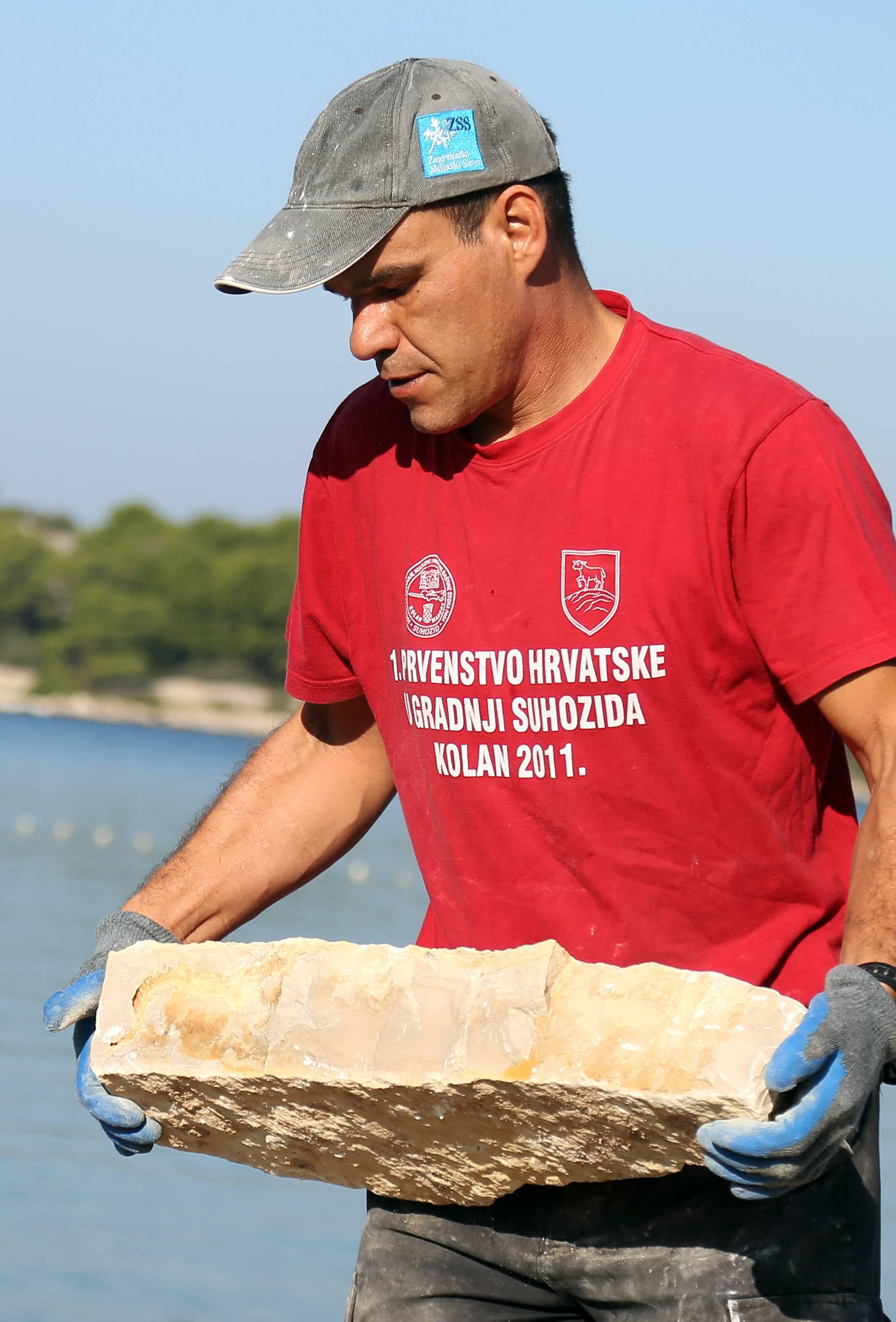 Murter: Održano 2. Prvenstvo Hrvatske u gradnji suhozida
