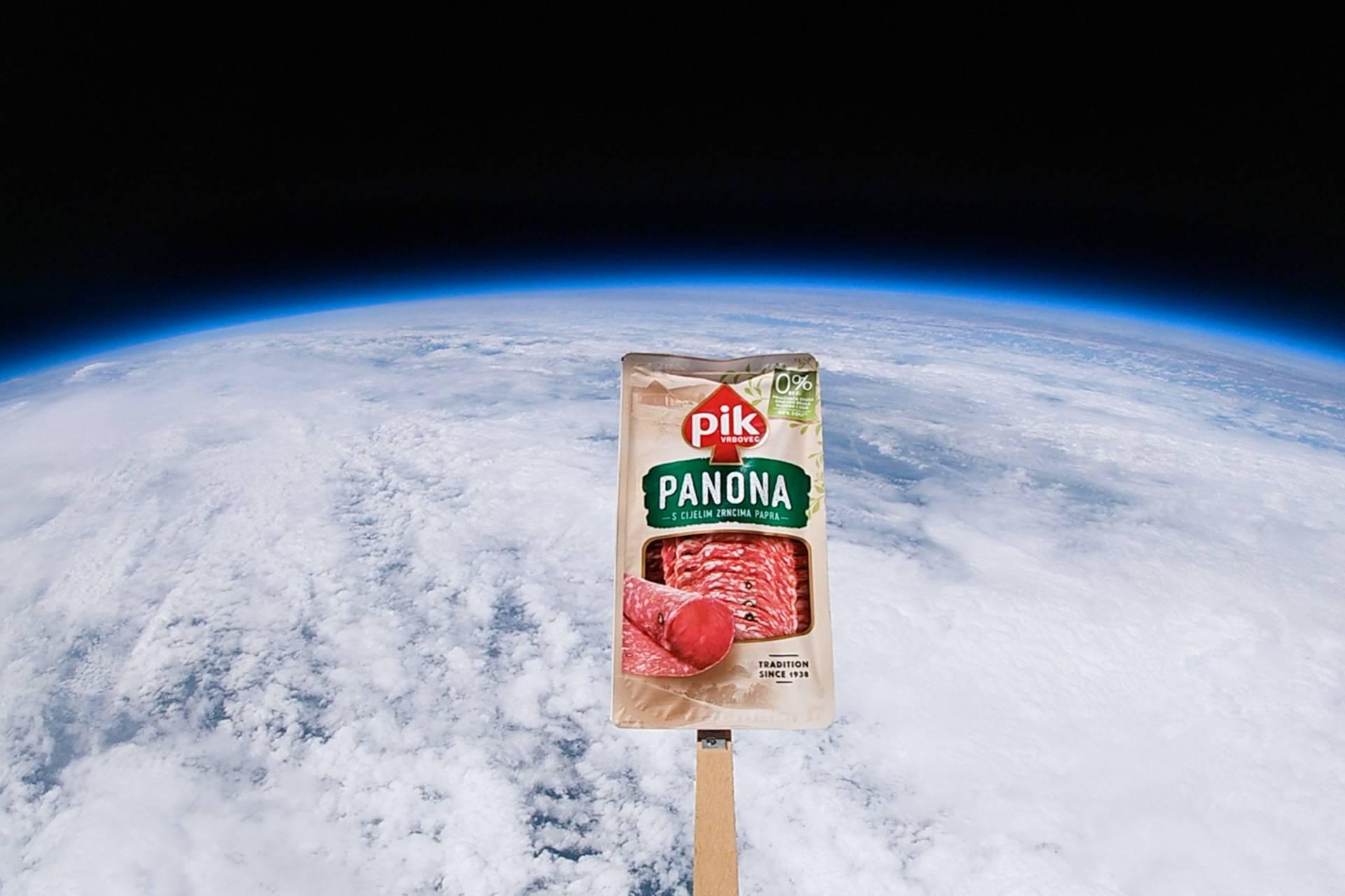 Prvi komercijalni let u stratosferu u Hrvatskoj