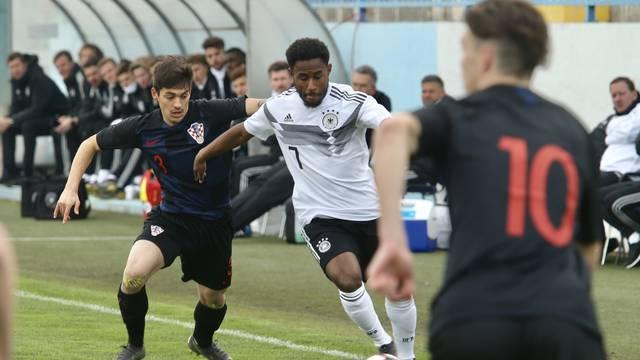 Sinj: UEFA U-19 Elitno kolo kvalifikacija za EP, Hrvatska - Njemačka