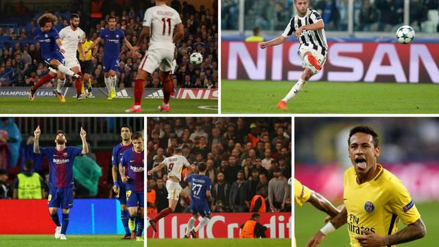 Večer eurogolova: Luiz, Pjanić, Leo Messi, Džeko ili - Neymar?