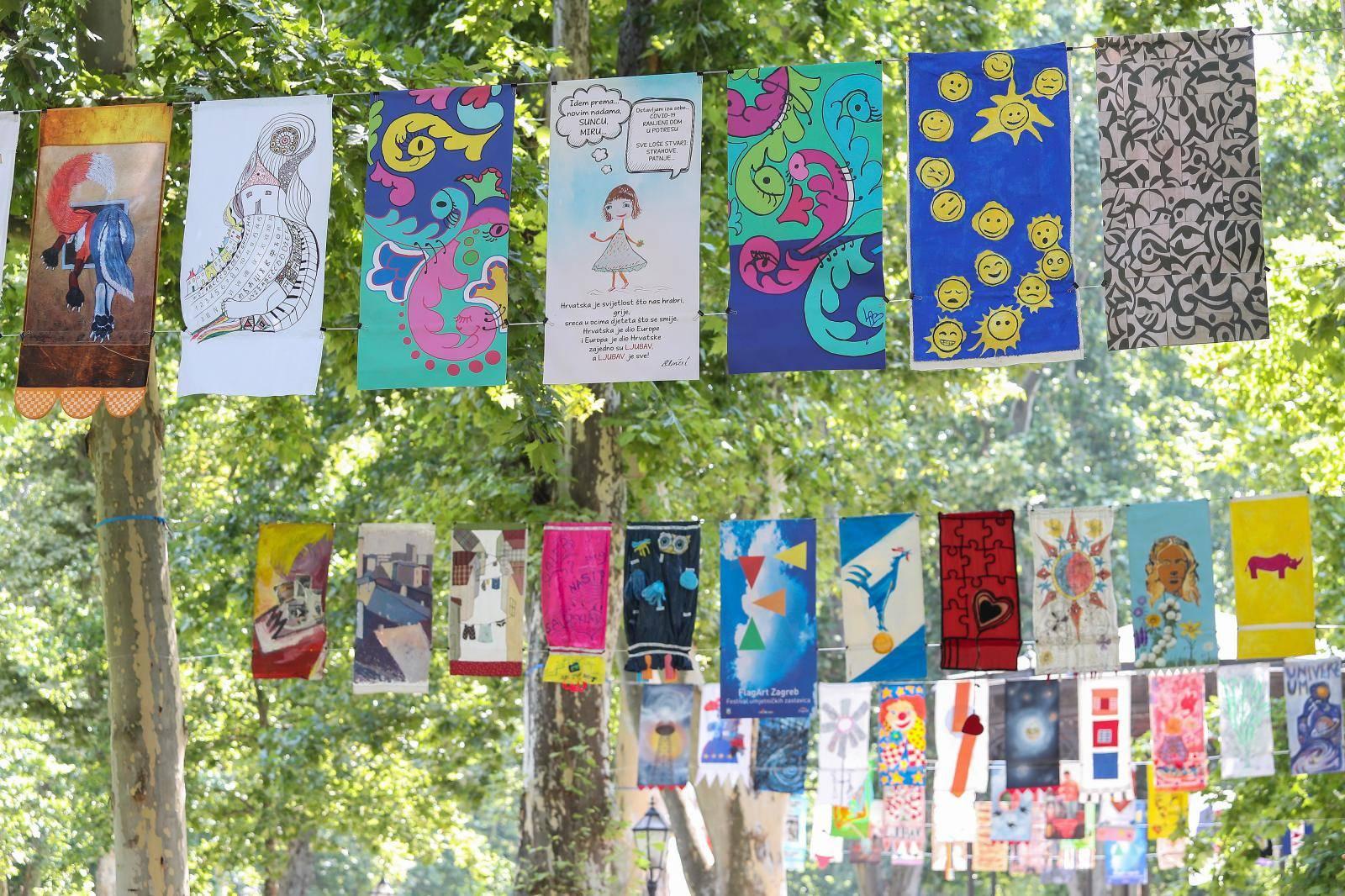 U Zagrebu počeo Festival umjetničkih zastavica