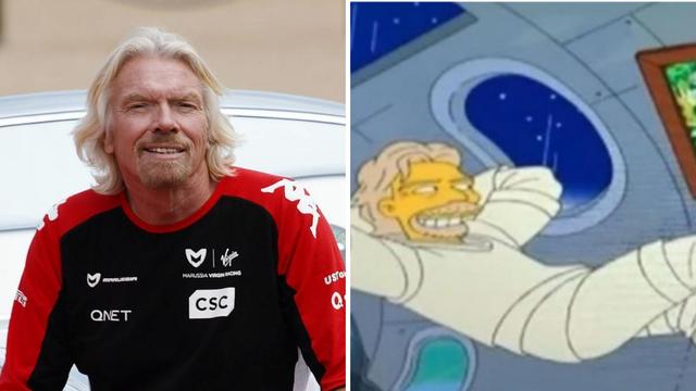 Simpsoni ponovno predvidjeli budućnost? Još 2014. su najavili da će Branson letjeti u svemir!