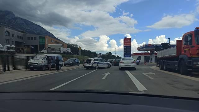 Dva policajca ozlijeđena u sudaru na Jadranskoj magistrali