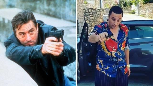 Srpski glumac 'skinuo' De Nira i nasmijao fanove: Pljunuti ste