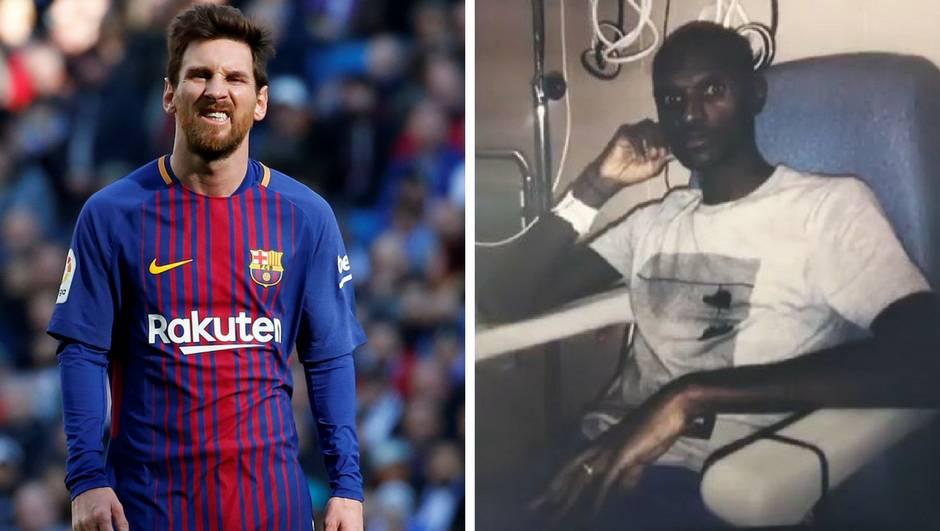 Messi suigraču koji se borio s rakom: Kao leš si, plašiš nas!