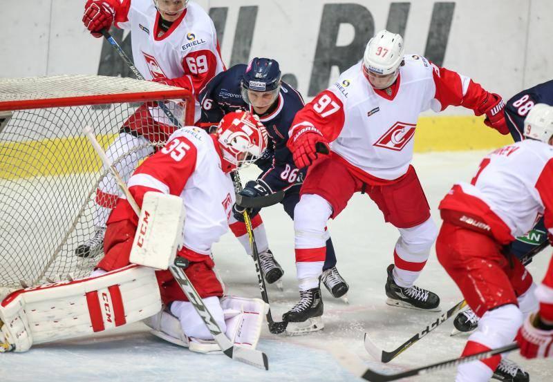 KHL Medvescak - Spartak Moskva
