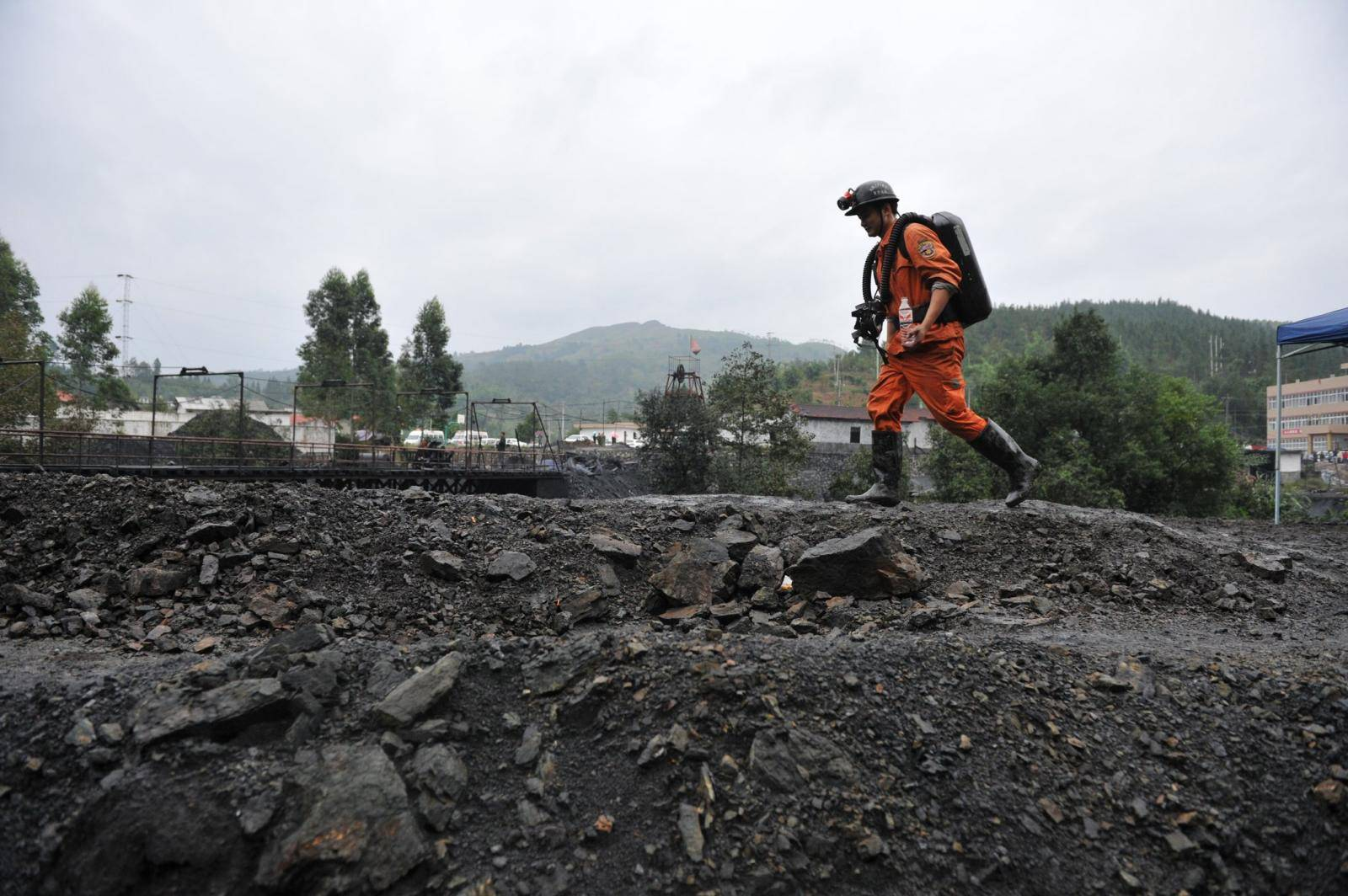 CHINA-GUIZHOU-COAL MINE ACCIDENT (CN)