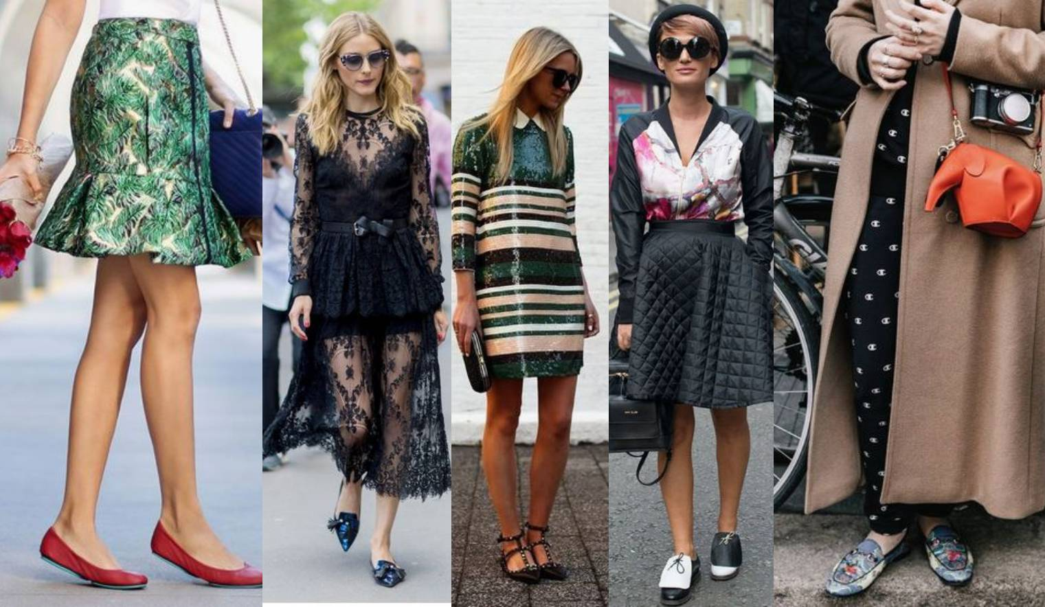 Party bez visokih potpetica: 10 chic večernjih kombinacija s elegantnim ravnim cipelama
