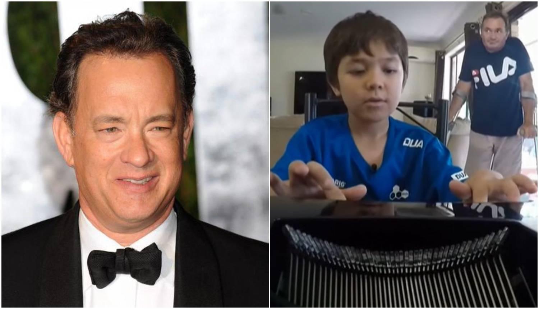 Hanks je poslao poklon dječaku kojeg su ismijavali zbog imena